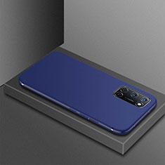 Oppo A72用極薄ソフトケース シリコンケース 耐衝撃 全面保護 S01 Oppo ネイビー