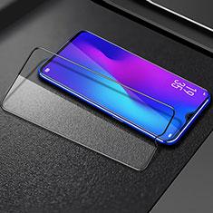Oppo A9用強化ガラス フル液晶保護フィルム F02 Oppo ブラック