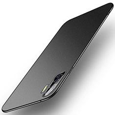 Oppo A91用ハードケース プラスチック 質感もマット カバー M01 Oppo ブラック