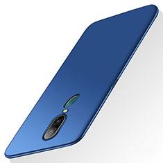 Oppo A9X用ハードケース プラスチック 質感もマット Oppo ネイビー