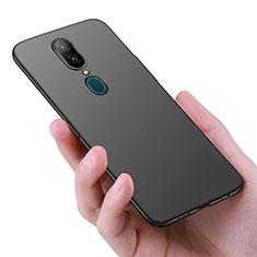 Oppo A9X用ハードケース プラスチック 質感もマット Oppo ブラック
