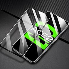Oppo Ace2用強化ガラス フル液晶保護フィルム F03 Oppo ブラック