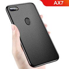 Oppo AX7用極薄ソフトケース シリコンケース 耐衝撃 全面保護 Oppo ブラック