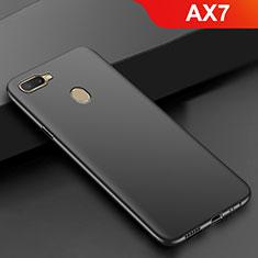 Oppo AX7用極薄ソフトケース シリコンケース 耐衝撃 全面保護 S02 Oppo ブラック