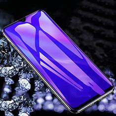 Oppo F15用アンチグレア ブルーライト 強化ガラス 液晶保護フィルム B01 Oppo クリア