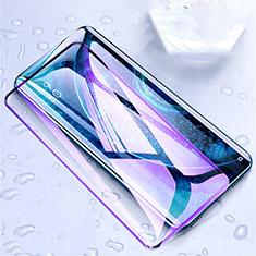 Oppo Find X2用強化ガラス フル液晶保護フィルム アンチグレア ブルーライト F02 Oppo ブラック