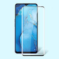 Oppo Find X2 Lite用強化ガラス フル液晶保護フィルム F02 Oppo ブラック