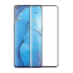 Oppo Find X2 Neo用強化ガラス フル液晶保護フィルム Oppo ブラック