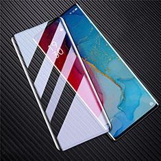 Oppo Find X2 Neo用強化ガラス フル液晶保護フィルム F02 Oppo ブラック