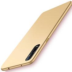 Oppo Find X2 Pro用ハードケース プラスチック 質感もマット カバー M01 Oppo ゴールド