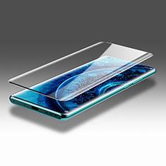 Oppo Find X2 Pro用強化ガラス フル液晶保護フィルム F03 Oppo ブラック