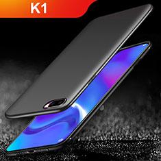 Oppo K1用極薄ソフトケース シリコンケース 耐衝撃 全面保護 Oppo ブラック