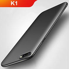 Oppo K1用極薄ソフトケース シリコンケース 耐衝撃 全面保護 S02 Oppo ブラック