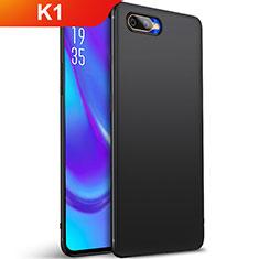 Oppo K1用極薄ソフトケース シリコンケース 耐衝撃 全面保護 S01 Oppo ブラック