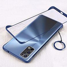 Oppo K7x 5G用ハードカバー クリスタル クリア透明 H01 Oppo ネイビー