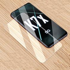 Oppo K7x 5G用強化ガラス 液晶保護フィルム T01 Oppo クリア