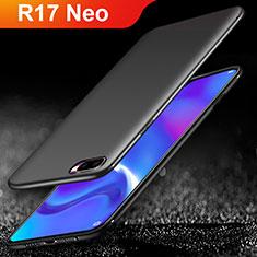 Oppo R17 Neo用極薄ソフトケース シリコンケース 耐衝撃 全面保護 Oppo ブラック