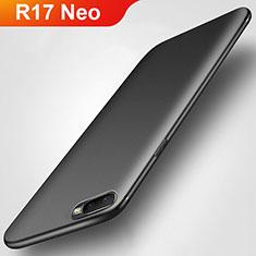 Oppo R17 Neo用極薄ソフトケース シリコンケース 耐衝撃 全面保護 S02 Oppo ブラック