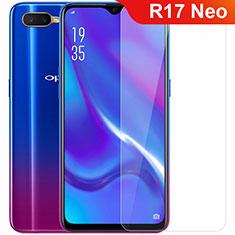 Oppo R17 Neo用強化ガラス 液晶保護フィルム Oppo クリア