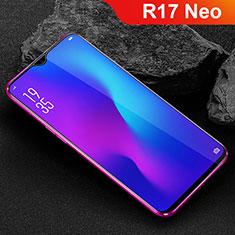 Oppo R17 Neo用強化ガラス フル液晶保護フィルム Oppo ブラック
