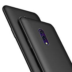 Oppo Realme X用極薄ソフトケース シリコンケース 耐衝撃 全面保護 Oppo ブラック