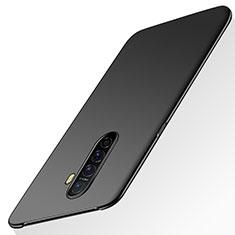 Oppo Reno Ace用ハードケース プラスチック 質感もマット カバー M02 Oppo ブラック