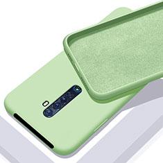 Oppo Reno2用360度 フルカバー極薄ソフトケース シリコンケース 耐衝撃 全面保護 バンパー S02 Oppo グリーン