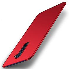 Oppo Reno2用ハードケース プラスチック 質感もマット カバー M05 Oppo レッド