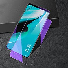 Oppo Reno2 Z用アンチグレア ブルーライト 強化ガラス 液晶保護フィルム B02 Oppo クリア