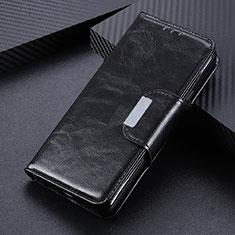 Oppo Reno4 4G用手帳型 レザーケース スタンド カバー L04 Oppo ブラック