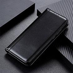 Oppo Reno4 5G用手帳型 レザーケース スタンド カバー T05 Oppo ブラック