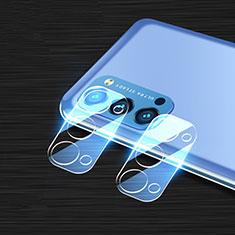Oppo Reno4 5G用強化ガラス カメラプロテクター カメラレンズ 保護ガラスフイルム C01 Oppo クリア