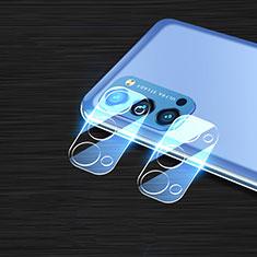 Oppo Reno4 Pro 5G用強化ガラス カメラプロテクター カメラレンズ 保護ガラスフイルム Oppo クリア