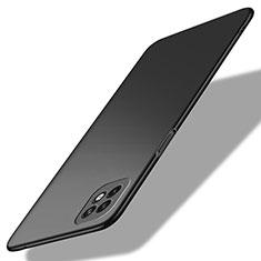 Oppo Reno4 SE 5G用ハードケース プラスチック 質感もマット カバー M01 Oppo ブラック