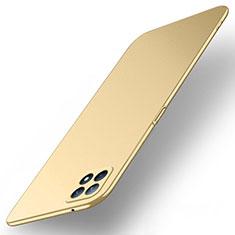 Oppo Reno4 SE 5G用ハードケース プラスチック 質感もマット カバー M02 Oppo ゴールド