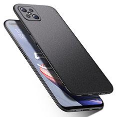 Oppo Reno4 Z 5G用ハードケース プラスチック 質感もマット カバー M01 Oppo ブラック