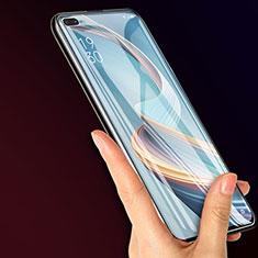 Oppo Reno4 Z 5G用強化ガラス 液晶保護フィルム Oppo クリア