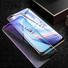 Oppo Reno4 Z 5G用強化ガラス フル液晶保護フィルム アンチグレア ブルーライト Oppo ブラック