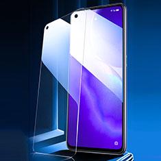 Oppo Reno5 5G用アンチグレア ブルーライト 強化ガラス 液晶保護フィルム Oppo クリア