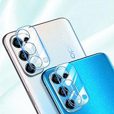 Oppo Reno5 5G用強化ガラス カメラプロテクター カメラレンズ 保護ガラスフイルム C01 Oppo クリア