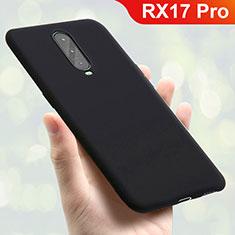 Oppo RX17 Pro用極薄ソフトケース シリコンケース 耐衝撃 全面保護 S01 Oppo ブラック