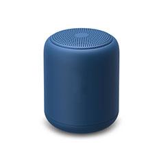 Vivo Y12s用Bluetoothミニスピーカー ポータブルで高音質 ポータブルスピーカー K02 ネイビー