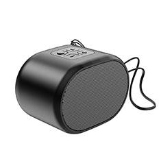 Huawei Y6.2017用Bluetoothミニスピーカー ポータブルで高音質 ポータブルスピーカー K06 ブラック