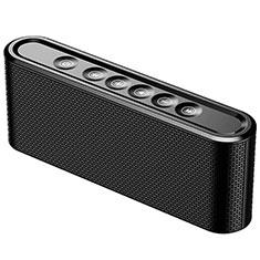 Huawei Ascend G520用Bluetoothミニスピーカー ポータブルで高音質 ポータブルスピーカー K07 ブラック