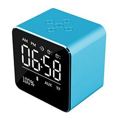 Huawei Ascend G520用Bluetoothミニスピーカー ポータブルで高音質 ポータブルスピーカー K08 ネイビー