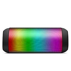 Vivo Y12s用Bluetoothミニスピーカー ポータブルで高音質 ポータブルスピーカー S11 ブラック