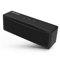 Vivo Y12s用Bluetoothミニスピーカー ポータブルで高音質 ポータブルスピーカー S19 ブラック