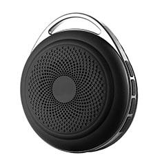 Vivo Y12s用Bluetoothミニスピーカー ポータブルで高音質 ポータブルスピーカー S20 ブラック