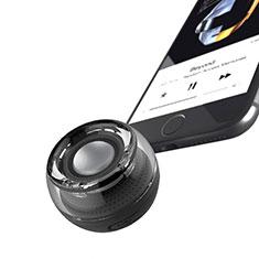 Vivo Y12s用Bluetoothミニスピーカー ポータブルで高音質 ポータブルスピーカー S28 ブラック