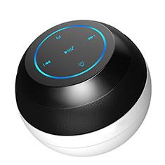 Huawei Nova 3e用Bluetoothミニスピーカー ポータブルで高音質 ポータブルスピーカー S22 ブラック